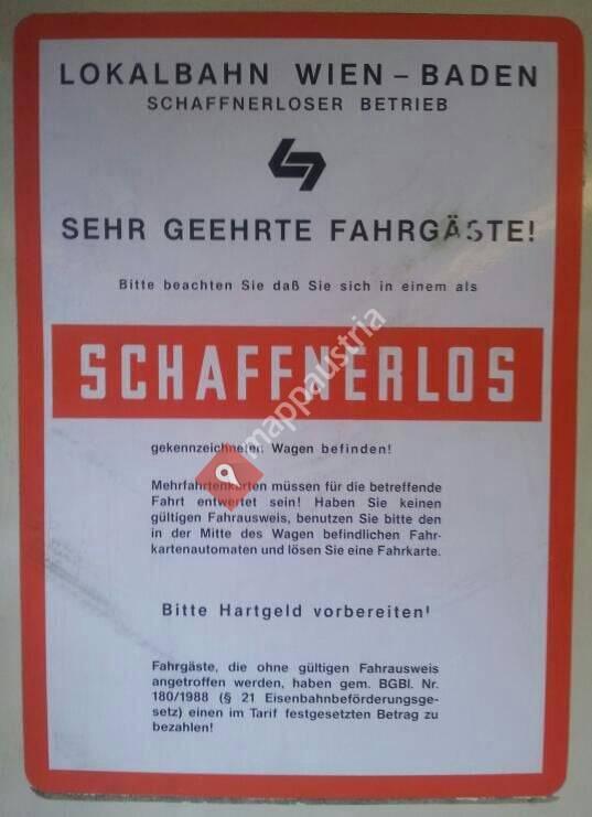 Badner Bahn - Karlsplatz