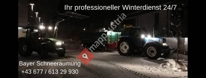 Bayer schneeräumung