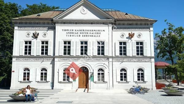 Tiroler Landesmuseum DAS TIROL PANORAMA mit Kaiserjägermuseum